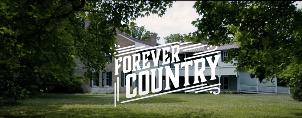 Forever Country music video cover